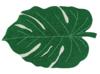 Dywan w kształcie liścia bawełniany z możliwością prania EKO