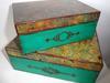 Pudełko, skrzyneczka decoupage duża - miniaturka