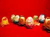 jajko, jaja wielkanocne, wstążka ręcznie wykonane - 1