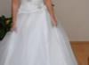 Suknia Ślubna jak nowa tiul w całości nowy - miniaturka
