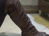 kozaki za kolano sexy 37 boot square