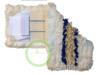 Mop trójskładnikowy DUO kieszeń+klips 40 cm