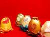 jajko, jaja wielkanocne, wstążka ręcznie wykonane - 3