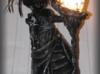 RZEŹBA - LAMPA