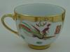 Filiżanki i dzbanek na tacy  złocone porcelana kawa herbata - miniaturka