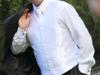 kamizelka ślubna biała rozm 54 + musznik + butonierka - miniaturka