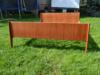 Łóżko tekowe Duński Design Drzewo Tekowe 2 osobowe