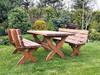Zestaw ogrodowy Meble ogrodowe - stół - ławka