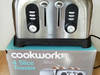 Toster Cookworks TA8561 na 4 kromki 1700 W