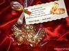 Złote aniołki na podziękowanie - Chrzest, Komunia, Ślub,inne - miniaturka