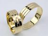 Złote obrączki ślubne Goldrun Lux 031 - miniaturka