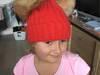 Czapka z pomponami z futra jenota unisex dla dzieci