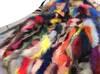 Parka kurtka obszyta w środku jenotem multicolor S/XXL