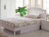 Łóżko 120x190 cm BIAŁE wyjątkowo solidne dla dziewczynki