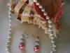 naszyjnik i kolczyki z masy perlowej