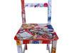 Krzesło artystyczne DECOUPAGE wspaniały mebel, jedyny w swoim rodzaju - PRAWDZIWY RARYTAS!