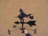 Wiatrowskaz babajaga czarownica