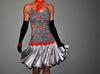 oryginalna praktycznie nowa sukienka - taniec towarzyski LA tańce latynoamerykańskie EDC