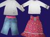 Zestaw nr 2 dla dziewczynki 80-86 markowe idealne 12 szt - miniaturka
