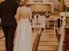 Romantyczna suknia boho/rustykalna 34/36