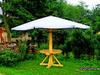 Parasol Ogrodowy Drewniany - Piękny! - miniaturka