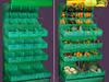 Regał warzywny malowany