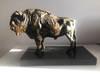 Rzeźba, Figurka, Żubr, Marmur, waga aż 11 kg!!