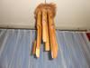 Bambus, bambusowy gong wiatru, wietrzny ozdoba, dekoracja