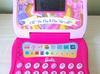 Edukacyjny laptop LCD dziecka Barbie Mosqueteira MATTEL SaNdRa - miniaturka