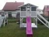 Place zabaw, domki dziecięce