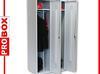 Szafa szafy meble bhp metalowe warsztatowe zapleczowe PROBOX 180x80x50 socjalna sklepowa magazynowa biurowa