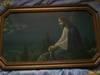 Stary obraz z wizerunkiem Jezusa