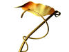 Stojąca Lampa Podlogowa wys. 175cm. Gustowna Złota Okazyjnie