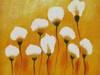 Obraz olejny ręcznie malowany 42 x 52 ABSTRAKCJA+ rama gratis - miniaturka