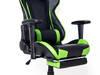 Fotel gamingowy kubełkowy gracza biurowy obrotowy DR Zielony