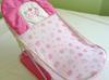 Jak nowe różowe Krzesełko leżaczek siedzonko do kąpieli  SaNdrA - miniaturka