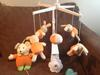Nakręcana karuzela do dziecięcego łóżeczka + gratis - miniaturka