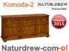 Komoda 2 z drewna Litego od PRODUCENTA -Meble z Katowic