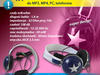 Wyjątkowe słuchawki MAGENA do MP3, MP4, PC, telefonów