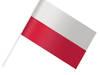 chorągiewki, flagi polskie 38 cm! NOWE