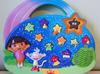 Interaktywna edukacyjna konsola gra panel muzyka Dora Explorer SaNdRa - miniaturka