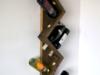 Półka na 10 butelek wina z drewna