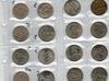 zestaw 26szt monet z lat 1969-1990 - miniaturka