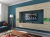 Meblościanka LEJDA C29 meble MAT witryna LED salon zestaw