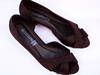 Buty kaczuszka damskie, brązowe Roz. 37