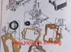 Komplet uszczelek papierowych gaźnik BING / TK  rower sachs