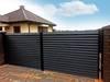 Tarczyńscy ogrodzenia metalowe nowoczesne palisadowe