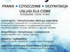 Pranie i Czyszczenie: Tapicerki Dywany Wykładziny   Ozonowan