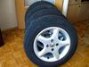 Sprzedam opony letnie Uniroyal RainExpert 185/65/R14, 86T + felgi aluminiowe Alessio 6Jx14H2 4x100 ET35 - miniaturka