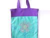 Fioletowa eko torba,kolorowa torba na zakupy, siatka fiolet